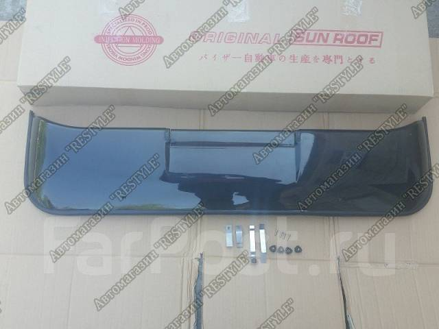 Дефлектор люка. Toyota Land Cruiser, FJ80, FJ80G, FZJ100, FZJ105, FZJ80, FZJ80G, FZJ80J, GRJ200, HDJ100, HDJ100L, HDJ101, HDJ101K, HDJ80, HZJ105, HZJ1...