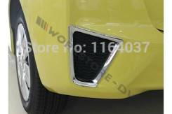 Накладка на бампер. Honda Fit, GK4, GP4, GK5, GK3, GP1, GP5, GP6, GK6