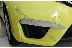 Накладка на бампер. Honda Fit, GP1, GK6, GK3, GK5, GK4, GP4, GP6, GP5