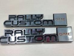 """Эмблема переднего крыла """"Rally Custom GMC"""". Chevrolet G20"""