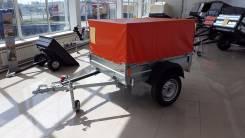 Курганские прицепы Стандарт 821301. Прицеп для легкового а/м Экспедиция Стандарт В10-R15 в Благовещенске, 565 кг.