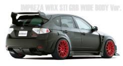 Спойлер. Subaru Impreza WRX, GH Subaru Impreza WRX STI, GRB, GRF. Под заказ