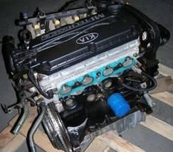 Двигатель в сборе. Kia Sephia Kia Spectra Двигатель S6D