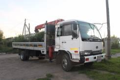 Nissan Diesel UD. Продается самопогрузчик манипулятор Nissan UD, 7 000 куб. см., 3 000 кг., 9 м.