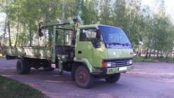 Mitsubishi Fuso. Продаётся грузовик бортовой с краном MMS FUSO, 7 000 куб. см., 5 000 кг.
