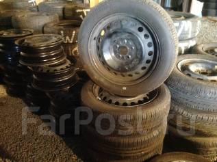 Продам летние колеса 175/60/16 на железных дисках 5/100 Goodyear. x16 5x100.00 ЦО 100,0мм.