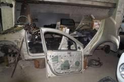 Левый порог со стойкой на рено сандеро. Renault Sandero