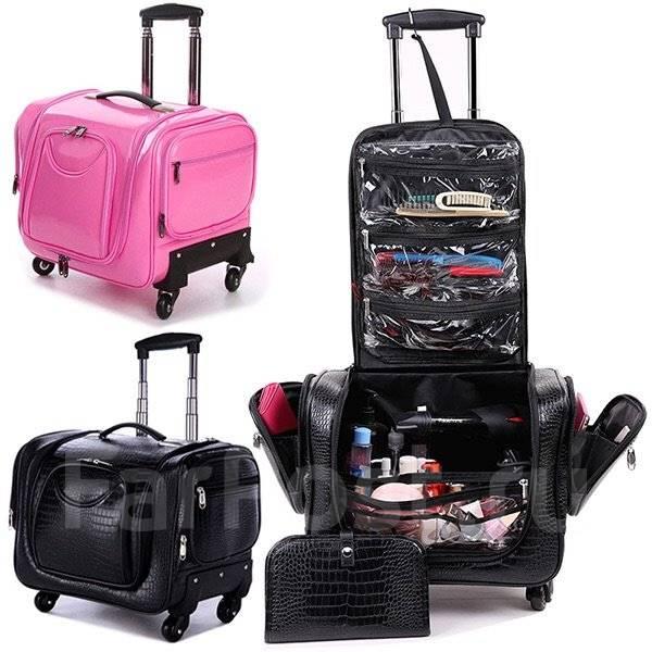 Чемоданы на колесах с бьюти-кейсом рюкзаки слинги что выбрать