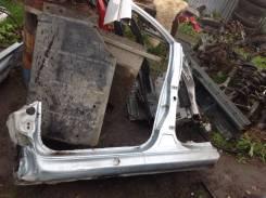 Центральная стойка кузова порог левый Peugeot 206