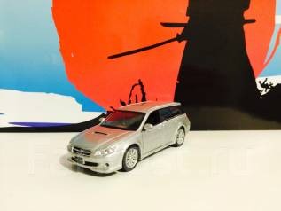 Модель Subaru Legacy Touring Wagon Турбо! серебро 1:43. Под заказ