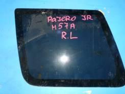 Стекло Mitsubishi Pajero Junior, левое заднее
