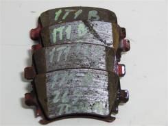 Тормозные колодки Volkswagen Touran, задний