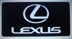 Табличка. Lexus