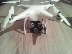 Квадрокоптер DJI Phantom 2 Zenmuse H3-3D; Камера Gopro HERO 3+