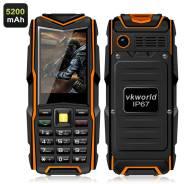 Vkworld Stone V3 GSM телефон - 2,4-дюймовый дисплей, 5200 мАч. Новый