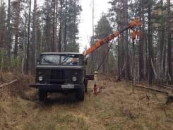 ГАЗ 66. Ямобур айчи на базе , 4 200 куб. см., 2 500 кг.