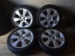 Продам колёса Creole+Лето 215/45R17. 7.0x17 5x114.30 ET55 ЦО 72,0мм.