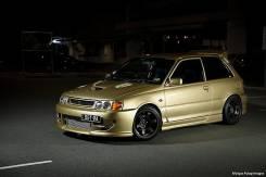 Обвес кузова аэродинамический. Toyota Starlet, EP80. Под заказ