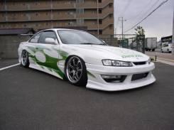 Дефлектор капота. Nissan Silvia, S14