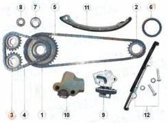 Цепь газораспределения. Nissan Pulsar, FNN15 Двигатель GA15DE