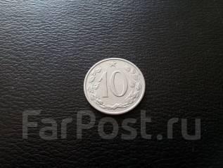 Социалистическая Чехословакия! 10 геллеров 1964 года.