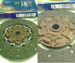 Диск сцепления 395 / 400 mm 18 шлицов HD120 / GLOBAL 411006C100 / 411006B100 / R40172150 / VKD42717