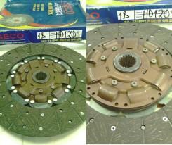 Диск сцепления 395 / 400 mm 18 шлицов HD120 / GLOBAL / 411006C100 / 411006B100 / R40172150 / 42717