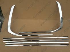 Молдинг лобового стекла. Lexus LX570 Toyota Land Cruiser, UZJ200W, VDJ200, J200, URJ202W, GRJ200, URJ200, URJ202, UZJ200