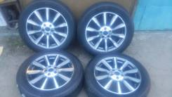 Bridgestone Dueler H/T D687. Всесезонные, 2014 год, износ: 40%, 4 шт