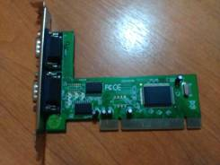 Контроллер gembird SPC-1 2x COM port PCI