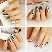 Наклейки для ногтей.