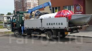 Бортовые грузовики с манипулятором