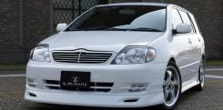 Решетка радиатора. Toyota Corolla, CE121, CE120, NDE120, NZE120, NZE121, CDE120, NZE124, ZZE124, ZZE123, ZZE122, ZRE120, ZZE121, ZZE120, CE121G, NZE12...