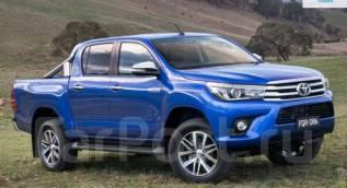 Порог пластиковый. Toyota Hilux Pick Up, GUN126L, GUN125L, GUN125 Двигатели: 1GDFTV, 2GDFTV