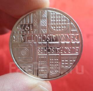 Германия 5 Марок 1975 F (Серебро)