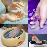 Парафинотерапия.