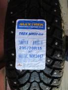 Maxtrek Trek M900. Зимние, шипованные, 2015 год, без износа, 1 шт