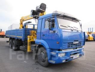 Камаз. Продам бортовой -65117-3010-23 с КМУ Soosan 736 Верхнее управлени, 11 762 куб. см., 13 000 кг.