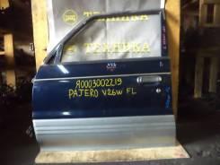 Дверь боковая. Mitsubishi Pajero, V14V, V21W, V23C, V23W, V24C, V24V, V24W, V24WG, V25C, V25W, V26C, V26W, V26WG, V34V