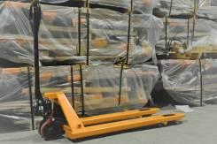 Bull. Тележка гидравлическая ручная(рохля) BULL г/п 2500 кг, 2 500 кг. Под заказ