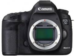 Canon EOS 5D Mark III Body. 20 и более Мп, зум: без зума