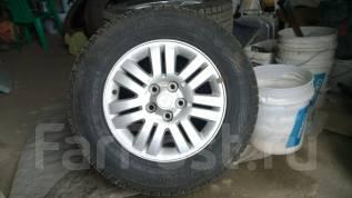 Литьё , колеса , резина на аутлендер и паджеро ио 215/70/16. x16