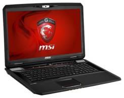 """MSI GX70 3BE-004RU. 17.3"""", 2,5ГГц, ОЗУ 8192 МБ и больше, диск 1 000 Гб, WiFi, Bluetooth"""