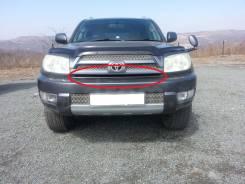 Накладка бампера Toyota Hilux Surf 2005г. в кузов 215