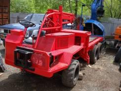 OIKAVA RM8WD6, 2000. Вездеход Oikava 6x6 мостовой с краном. Для лесозаготовок. с ПСМ