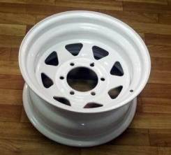 Steel Wheels. 8.0x15, 5x139.70, ET-20, ЦО 110,1 мм.