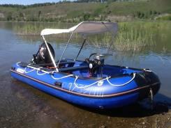 Golfstream. Год: 2014 год, длина 4,50м., двигатель подвесной, 30,00л.с., бензин