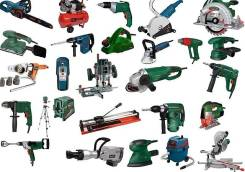 Прокат электроинструмента и др. инструмента и оборудования