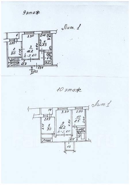 5-комнатная, улица Военное шоссе 27. Некрасовская, частное лицо, 103,0кв.м. План квартиры