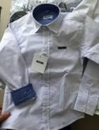 Рубашки школьные. Рост: 110-116, 116-122, 122-128, 128-134, 134-140, 140-146, 146-152 см